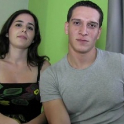 Pure kink in Dafne and Alex' debut, a couple that has decided to try their luck at porn