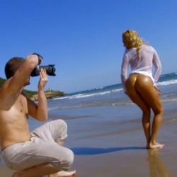 Un dia en Sitges de sol, fotos y mucho folleteo con Ginger Hell.