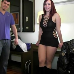 Beautiful Dati, posh and VERY KINKY, had the fantasy of shooting porn and she even looked for the guy