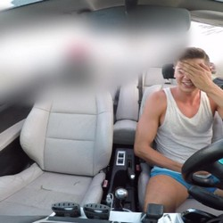 Tommy Cabrio is still looking for 'easy girls' to fuck 'em. 'You're a pervert, I'm gonna call the police!!!'